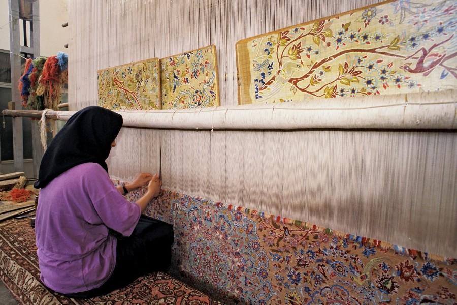 Тканые ковры своими руками