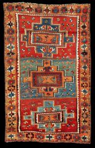 Традиционный анатолийский ковер Юрюк