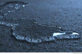 Вода на ковре