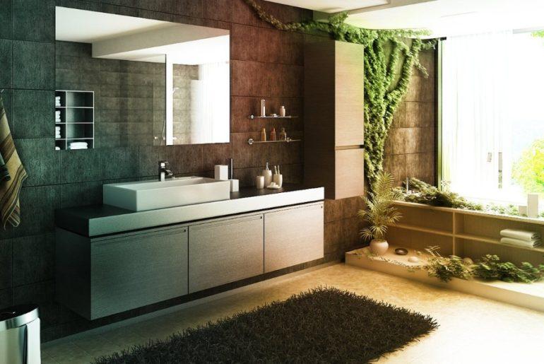 Коврики ванную комнату