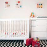 Cherno_beliy_kover_palas_dlya_detskoy_komnaty_Черно белый ковер палас для детской комнаты
