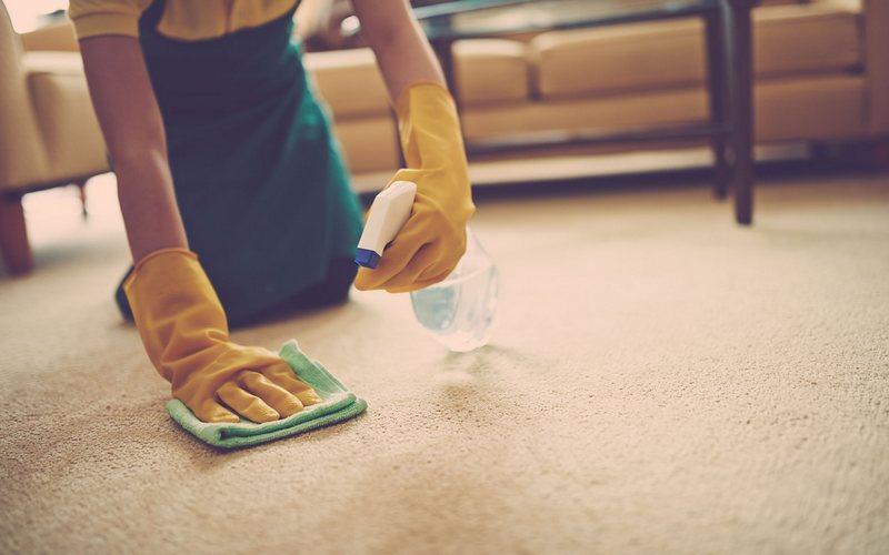 Чистка палас в домашних условиях