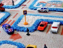Detskiy_kover_s_dorogami_3D_Детский ковер с дорогами 3Д