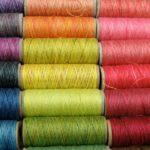 нить для оверлока, нитка для оверлока ковров, разноцветная нить для оверлока