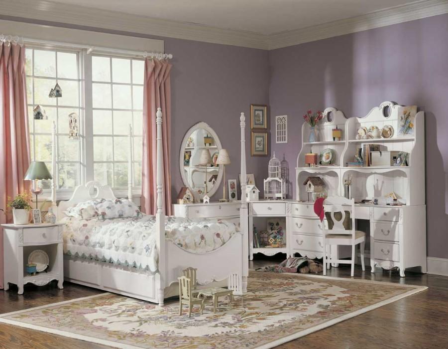 Kover_v_stile_provans_v_detskoy_komnate_Ковер в стиле прованс в детской комнате