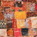 Indiyskiy_tkaneviy_kover_patchwork_Индийский тканевый ковер пэчворк