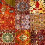 Kover_patchwork_ruchnoy_raboty_iz_uzelkovyh_kovrov_Ковер пэчворк ручной работы из узелковых ковров