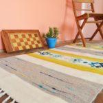 Tkaniy_sherstyanoy_kover_kilim_Тканый шерстяной ковер килим