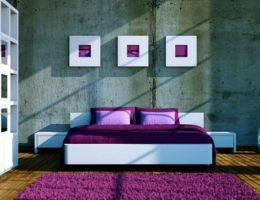 Fioletoviy_kover_s_dlinnim_vorsom_Фиолетовый ковер с длинным ворсом