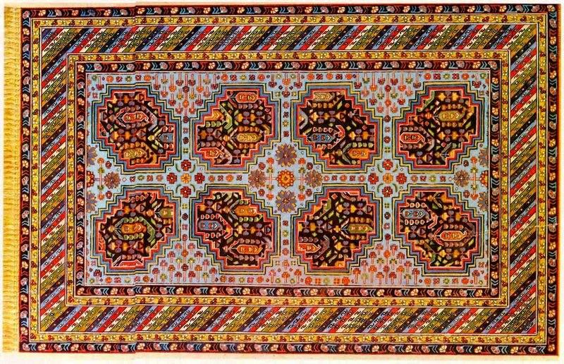 Бакинская школа ковров в Азербайджане