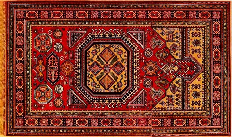 Гянджинская школа ковров в Азербайджане