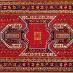 Казахская школа ковров в Азербайджане