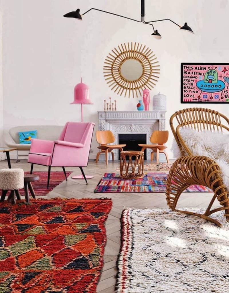 Марокканские коврики в интерьере
