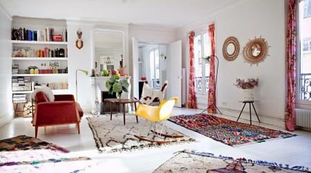 Марокканские ковры в интерьере