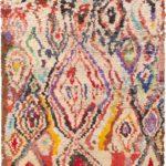 Марокканский узелковый ковер ручной работы