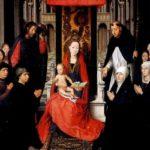 Мемлинг Мария с младенцем