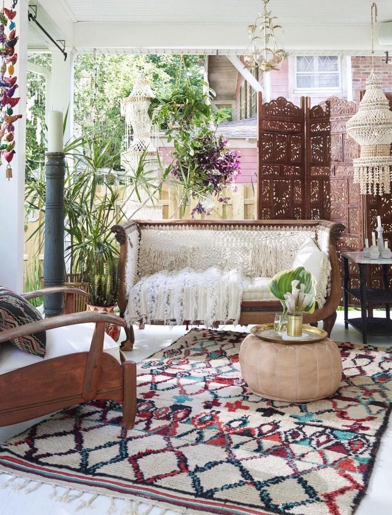 Разноцветный ковер из Марокко