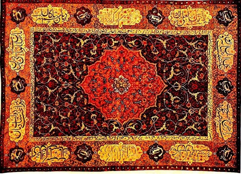 Тебризская школа ковров в Азербайджане